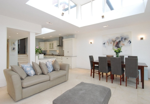 we think of light when building our house extensions for wirral homeowners