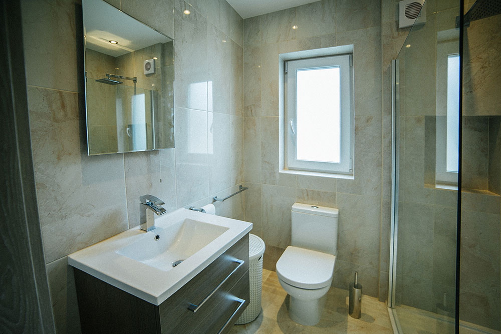 local bathroom fitter in Heswall latest project